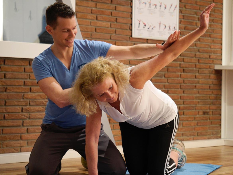 Alltagsbewegungen trainieren und fit bleiben